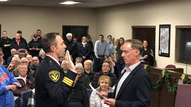 New Hickory Hills Police Chief Sworn In