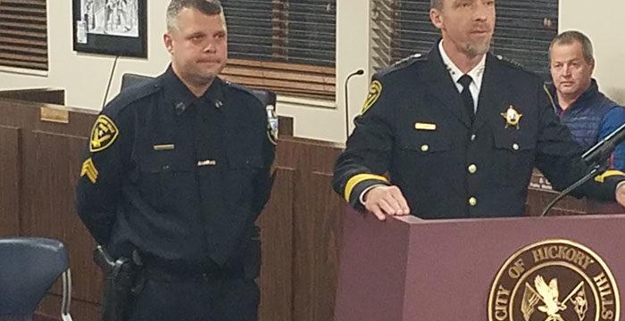 New Police Sergeant Sworn In