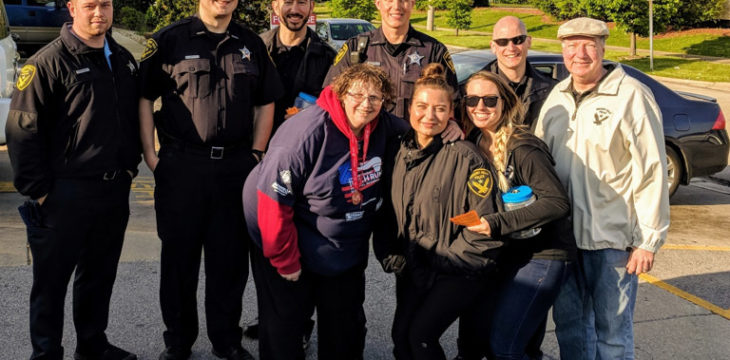 Cop on the Roof for Special Olympics