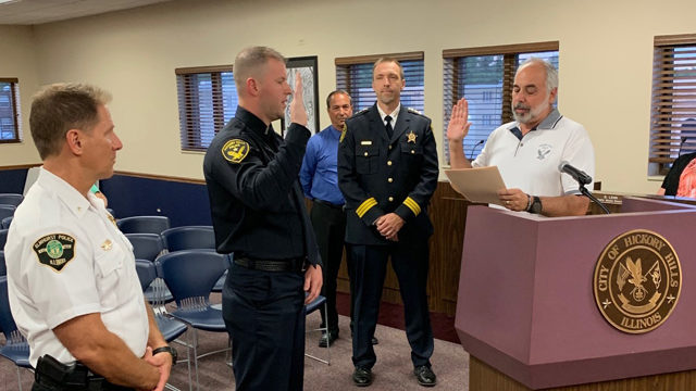 New Probationary Police Officer Sworn In