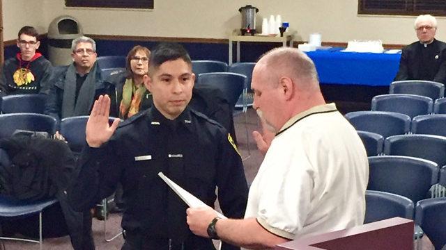 Probationary Officer Sworn In