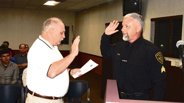 New Police Lieutenant Sworn In